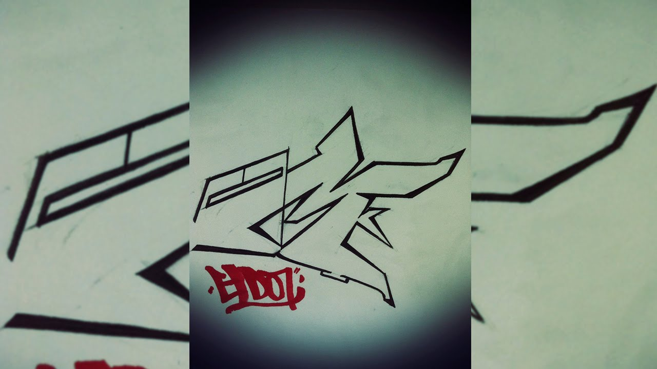 graffiti tutorial  draw letter m in graffiti step by step