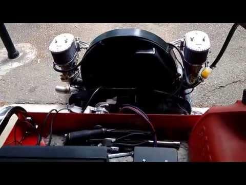 Aircooled VW engine break-in run