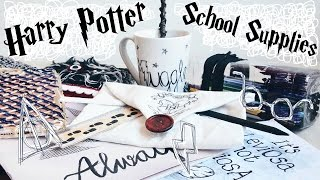 DIY Harry Potter School Supplies & Organisation Ideas! 10 Easy Crafts for Back to School || Adela
