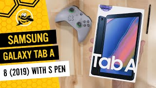 Samsung Galaxy Tab A 8 (2019) with S Pen: Unboxing, Hands On and First Impressions!