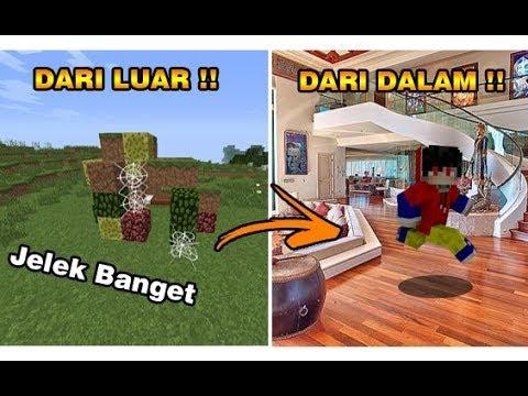 ADA RAHASIA DI DALAM RUMAH JELEK INI !! - Minecraft Indonesia !!