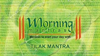 Download Hindi Video Songs - Tilak Mantra | Morning Mantras | Devotional
