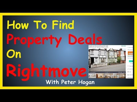 How To Find Deals On Rightmove