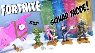 Fortnite Toys Action Figures Squad Mode Pack 2018 Jazwares