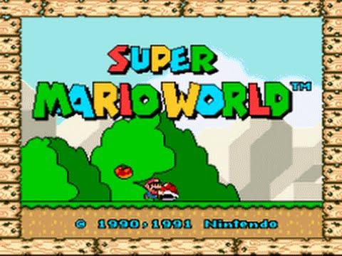 Super Mario World ao vivo