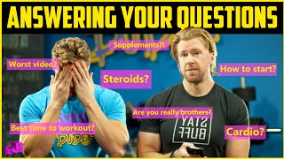 Buff Dudes Come Clean & Answer Your Top Food & Fitness Questions