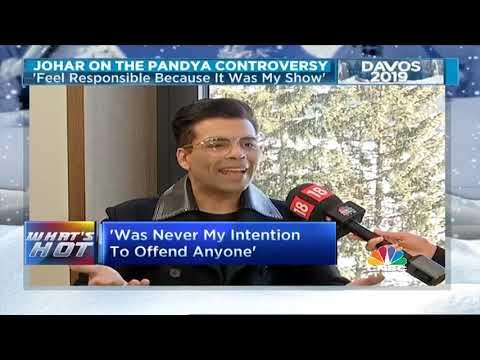 Davos 2019: Karan Johar On Hardik Pandya & KL Rahul Mp3