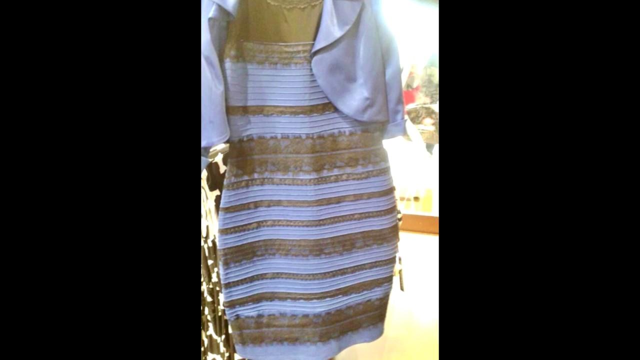 Почему одни видят синие платье
