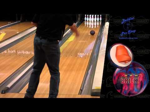 Hammer Brick and Epidemic bowling balls by Joe Stillman and Brian Ziesig, BuddiesProShop.com