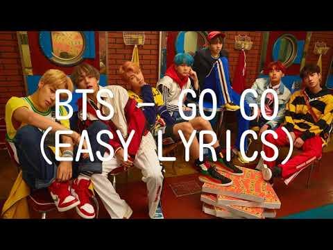 BTS - GO GO (EASY LYRICS)