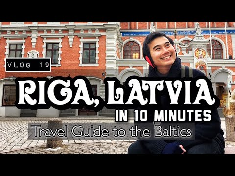 RIGA, LATVIA in 10 Minutes | Quick Travel Guide in the Balti