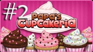 Papa's Cupcakeria parte 2