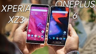 Sony Xperia XZ3 vs OnePlus 6: which is the BETTER DEAL?