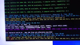 GTX 1050 Ti Hasrate Ethereum ETH (Micron RAM) 🔥🔥🔥