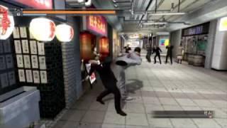 龍が如く4 (Yakuza 4) - Battle Style : Kiryu