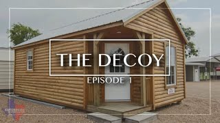 The Decoy - 14x24 - Studio Cabin - SHED TO HOUSE CONVERSION at Enterprise Center