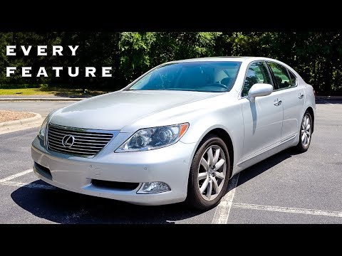 2008 Lexus LS460 Base: Full Feature Tour