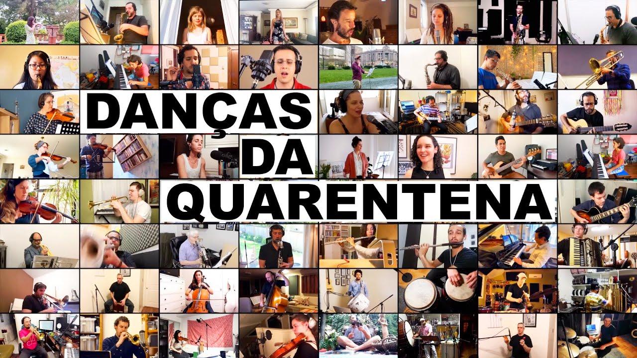 Danças da Quarentena (Rafael Piccolotto de Lima & Online Orchestra) | Musicians online recording