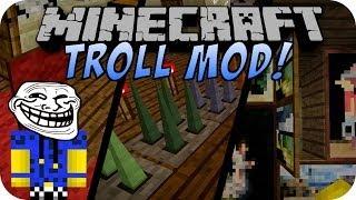 Minecraft TROLL MOD (TORCH LEVERS MOD) [Deutsch]