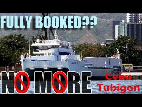 [ON HOLY WEEK 2018 ]TRAVELLING TO TUBIGON BOHOL VIA MODERN WORLD CLASS RORO FROM CEBU(LITE FERRY 88)