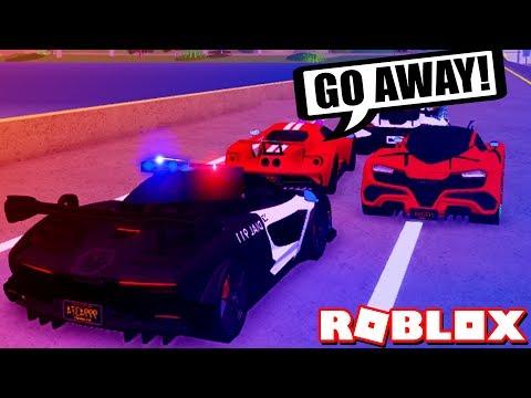 MY HARDEST POLICE CHASE YET! [McLaren Senna Police] (Roblox)