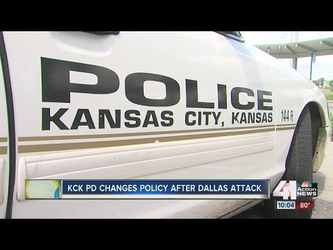 Kansas City, Kansas police department change policy after Dallas shootings