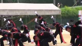 応援合戦 大洲高校 聖炎 2012
