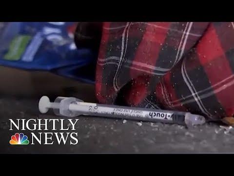 Philadelphia To Establish 'Safe Injection Sites'   NBC Nightly News