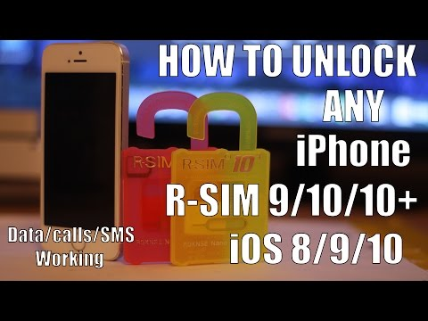 [FIX] How to unlock R-SIM iPhone 5/5S/5C/6/6S iOS 6/7/8/9/10 R-SIM 10/10+ incoming calls