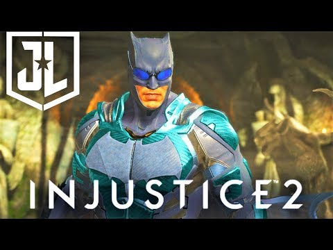 Thumbnail: INJUSTICE 2 - BATMAN Justice League Movie EPIC GEAR SET! Showcase! NEW Nth Shader