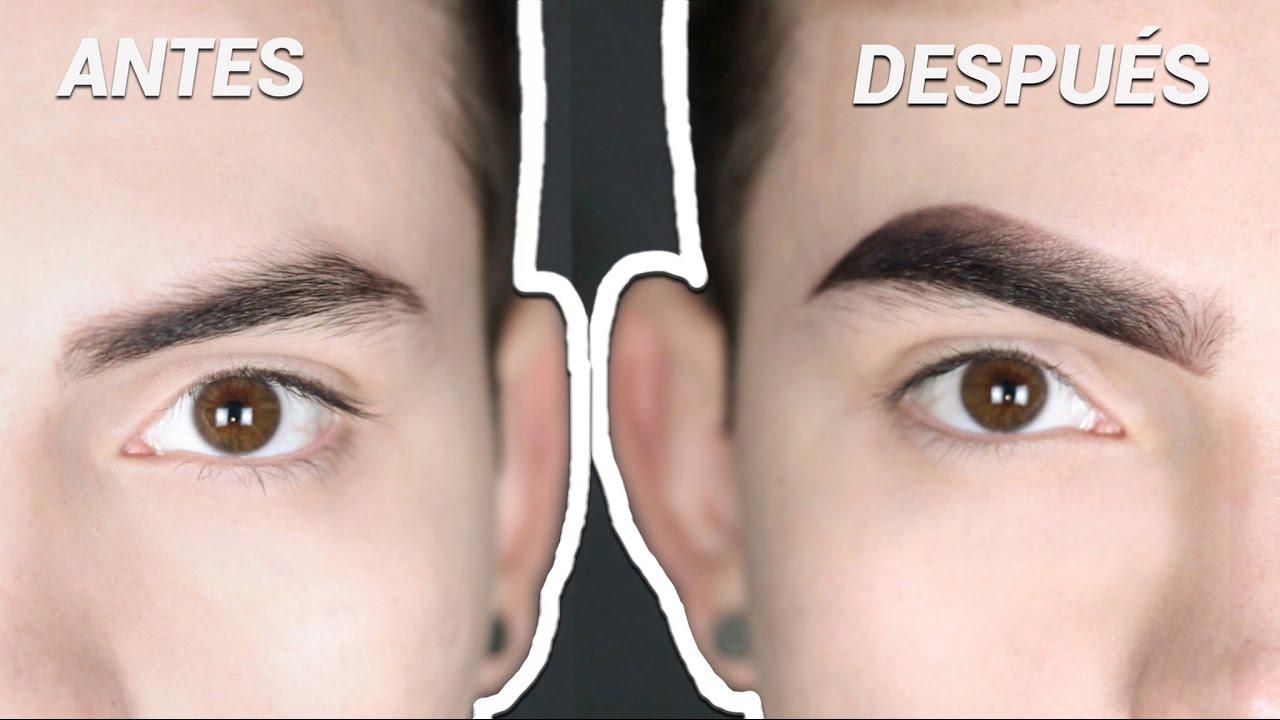 Cejas De Hombre ¿cÓmo hago mis cejas? rutina/tutorial (hombre) | joshe jr