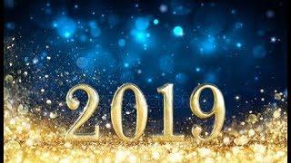 ОТКРЫТКА :С новым 2019 годом! Красивое и веселое поздравление!