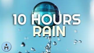 10 Hours of Rain: Rain on Roof, White Noise, Raining Sound for Sleeping, Cancel Background Noises