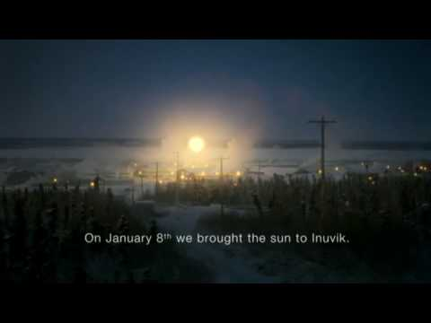 Tropicana Advert Commercial: Arctic Sun - Brighter mornings for brighter days