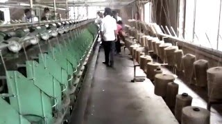 textile mill visit program video