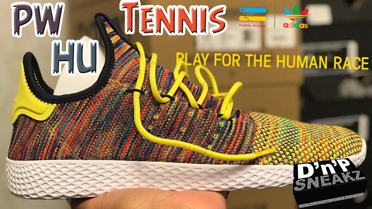 7f9dafe455f9c Pharrell x Adidas Tennis HU