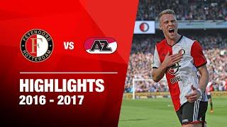 Samenvatting Feyenoord - AZ 2016-2017