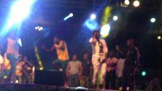 Bounty lisa Live at Busy Signal show, Glamis Arena Zimbabwe