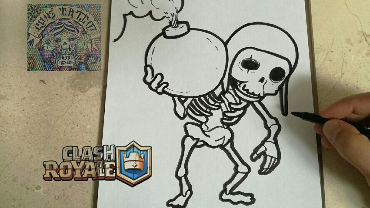 Dibujos Para Dibujar De Clash Royale