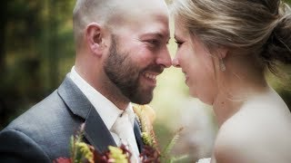 Emotional Maid of Honor Toast Will Make You Cry // Northwoods Fall Wedding in Wisconsin
