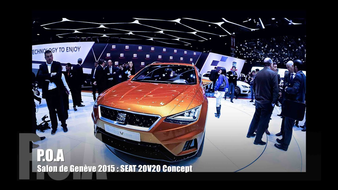 Seat V20V Concept Salon de Genve 2015 YouTube