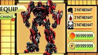 Shadow Fight 2 The Most Powerful TRONSFORMAR SHADOW