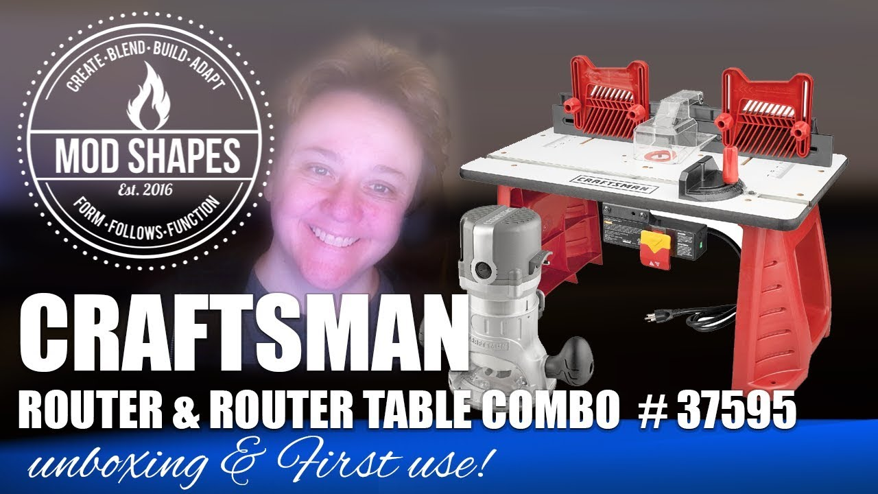 Wow craftsman router and table unboxing assembly and first use craftsman router and table unboxing assembly and first use easier than i thought and fun keyboard keysfo Gallery