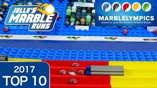 Marble Race: Marblelympics 2017 Top 10 Highlights