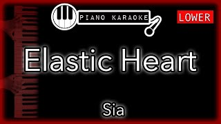 Download lagu Elastic Heart (LOWER -3) - Sia - Piano Karaoke Instrumental