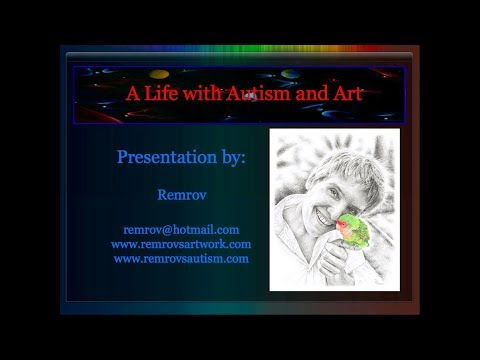 Autistic Artist Remrov Talks About Autism and Art