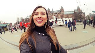 """ВЛОГ #27: Три дня - три города (Амстердам, Роттердам, Утрехт) + рецепт """"Курица в Чипсах"""""""