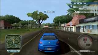 Test Drive Unlimited Gameplay PC HD