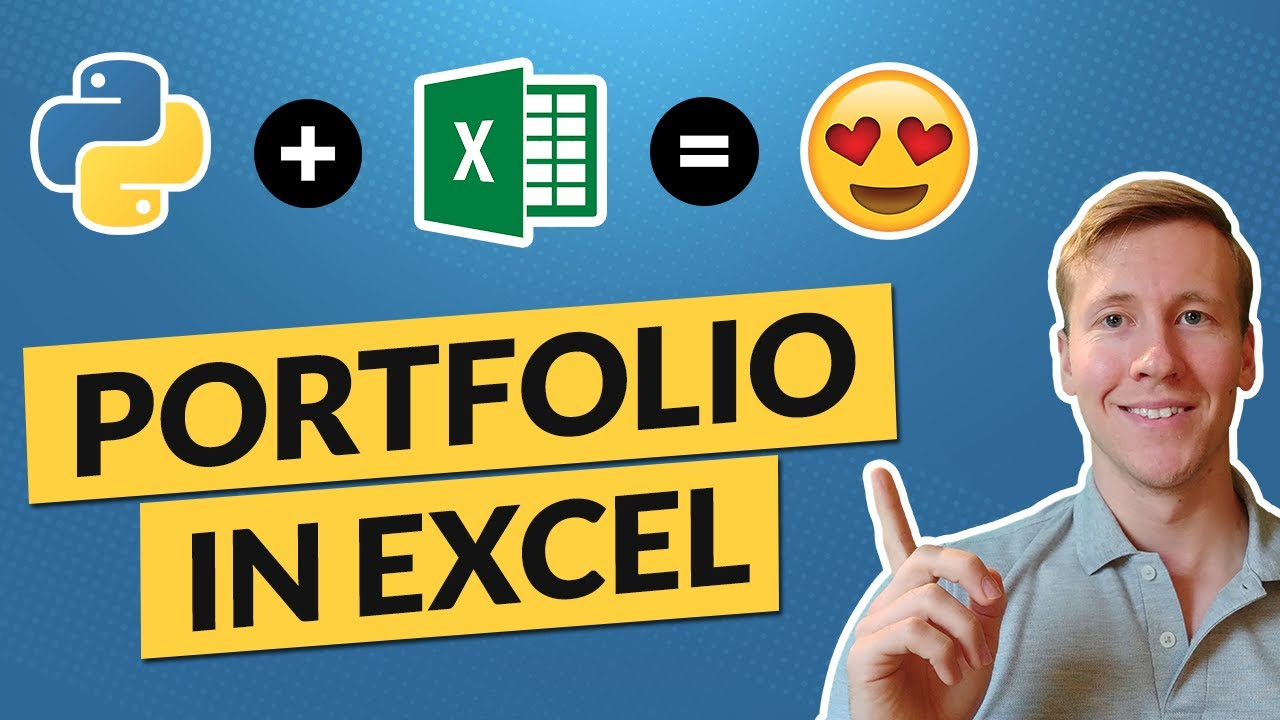 Build a Dividend & Portfolio Tracker in Excel by using Python [Free Template]