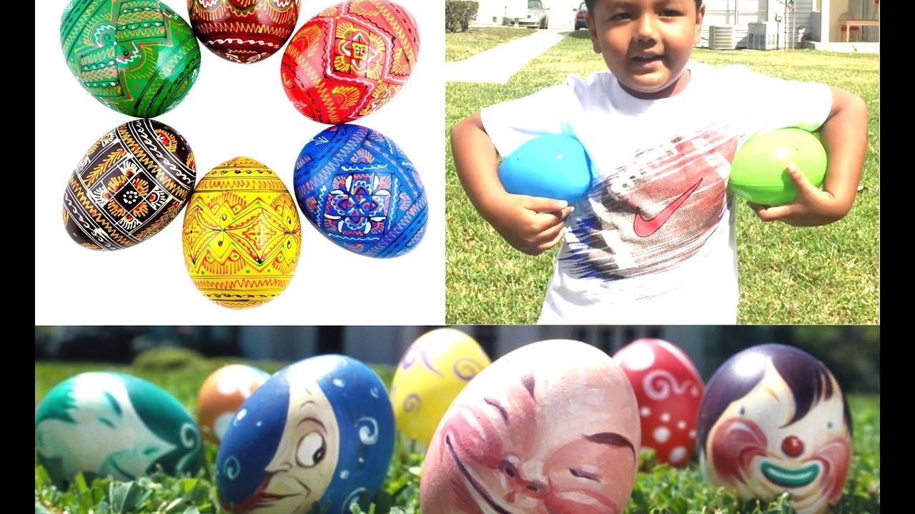 Easter Egg Hunt Surprise Toys Inside Youtube